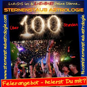 100 Stunden Insiderbereich Feier
