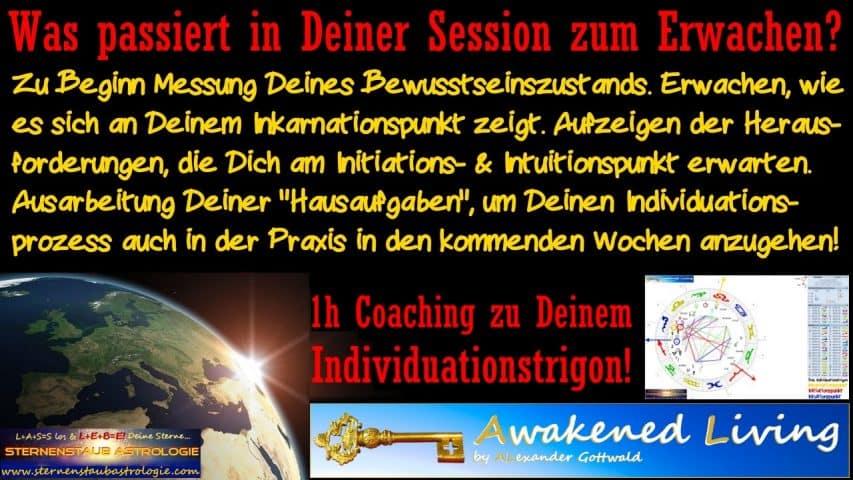 Was passiert in Deiner Session zum Erwachen