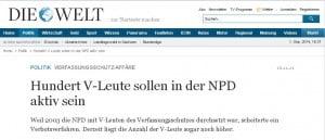 Horoskop der Landtagswahl in Sachsen 2014 V-Leute in der NPD