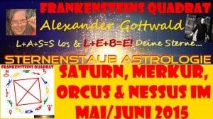 Sternernstaubastrologie Frankensteins Quadrat