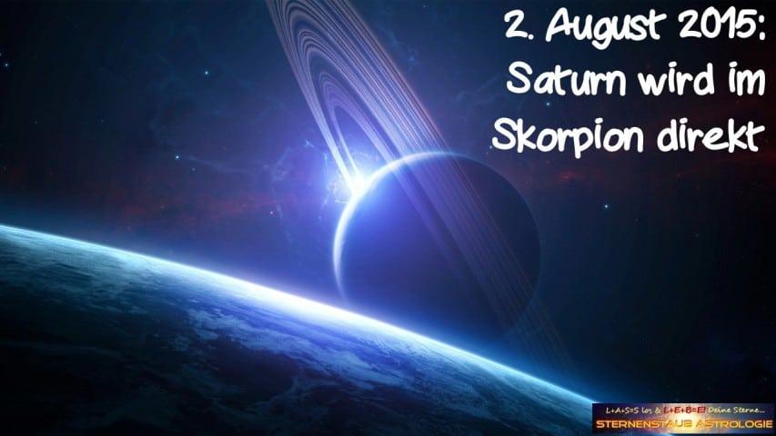 Im Zeichen des Saturn - Saturn wird direkt