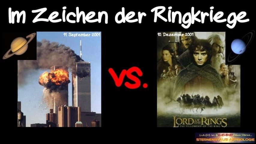 Horoskop November 2015 Im Zeichen der Ringkriege 9-11 vs Herr der Ringe erster Film 2001