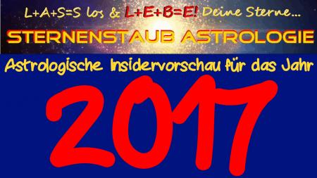 Astrologische Jahresvorschau 2017