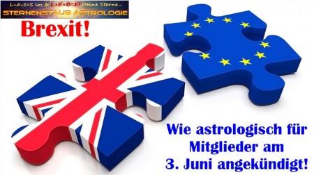 Brexit astrologisch angekündigt
