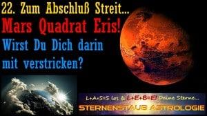 Mars dreht durch Eris Quadrat