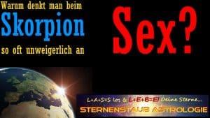 Warum denkt man beim Skorpion an Sex?