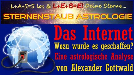 Horoskop Internet Gründung Astrologische Analyse