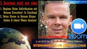 Individuationstrigon astrologische Analyse zwei Sessions