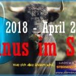 Horoskop Uranus Stier 2018 - 2026