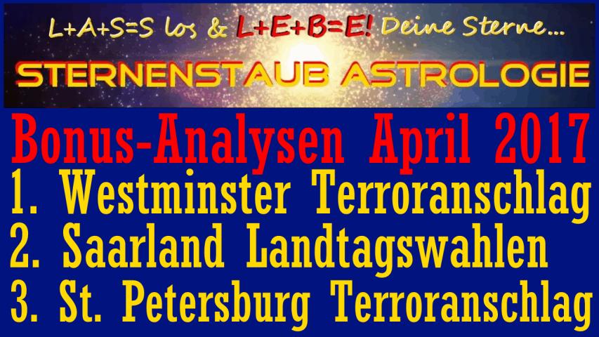 Astrologische Analyse Bonus April 2017 Mitglieder