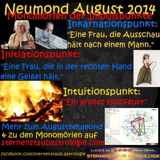 Monomörien Neumond August 2014