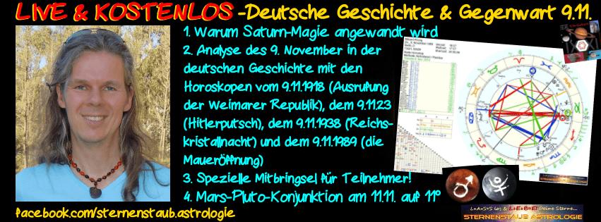 LIVE und kostenlos Alexander 9 und 11 November Horoskope