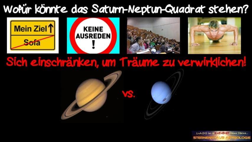 Horoskop November 2015 Saturn Neptun Quadrat sich einschränken für Träume