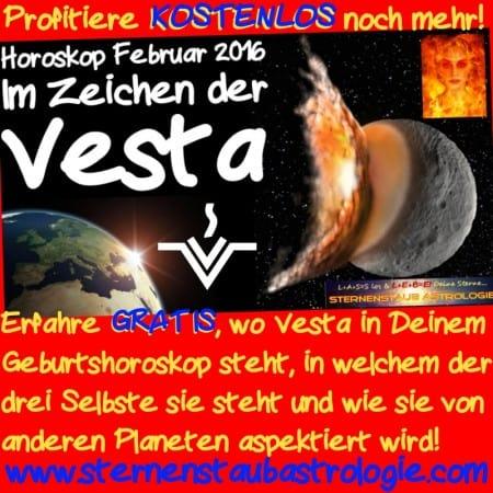 Vesta in Deinem Horoskop Gratis