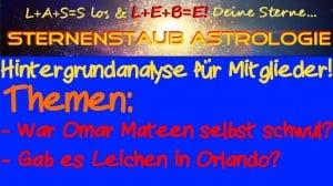 Astrologische Analyse Orlando Schießerei Mitglieder