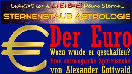 Astrologische Analyse Horoskop Euro