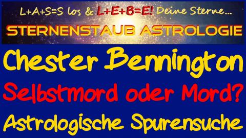 Horoskop Chester Bennington - Selbstmord oder Mord?