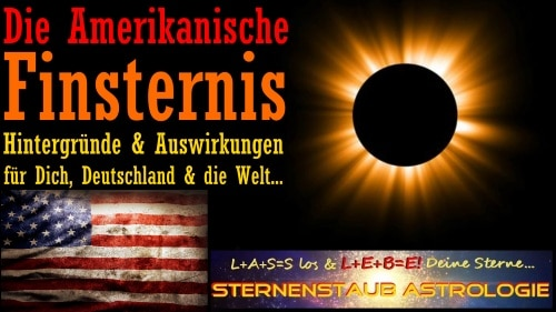 Horoskop Sonnenfinsternis USA August 2017 Sternenstaubastrologie