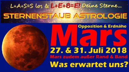 Horoskop Mars Opposition Erdnähe 2018