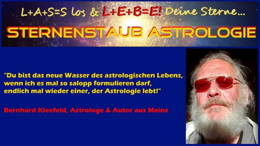 Astrologe Bernhard Kleefeld über Alexander Gottwald