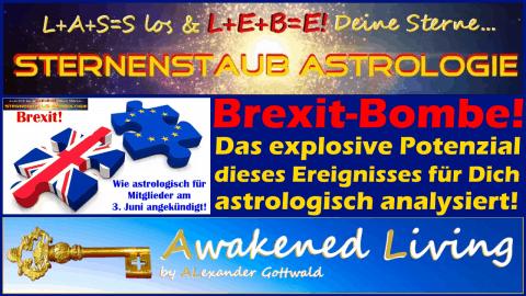 Die Brexit-Bombe - Das Horoskop Astrologische Analyse