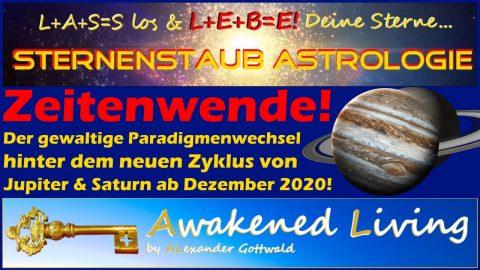 Zeitenwende Paradigmenwechsel Jupiter-Saturn-Zyklus ab Dezember 2020