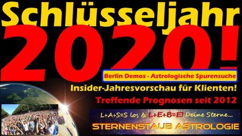Horoskop der Berlin Demos - Astrologische Spurensuche