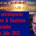 Erfüllte astrologische Prognosen 2012-2020