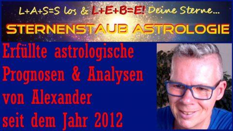 Erfüllte astrologische Prognosen 2012 bis 2020