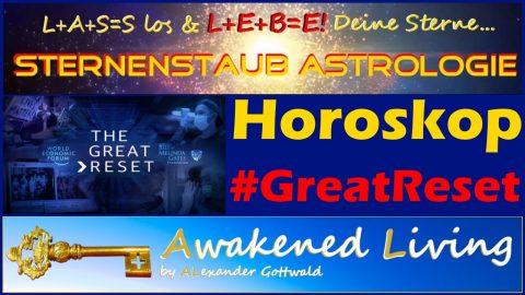Astrologische Analyse Horoskop Great Reset